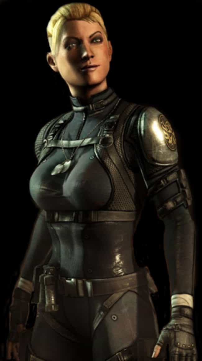 Cassie Cage is listed (or ranked) 2 on the list The Best Mortal Kombat X Character
