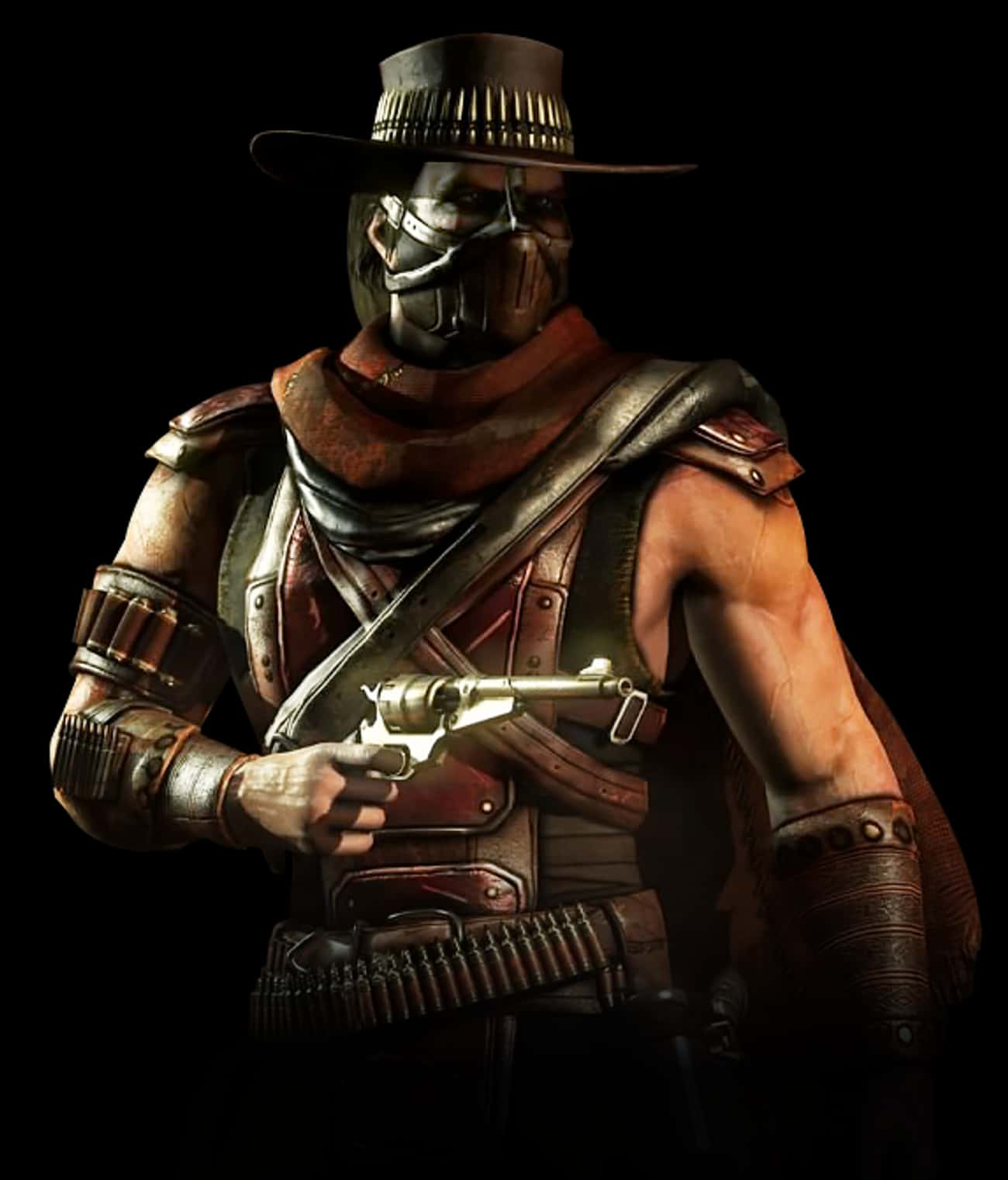 Erron Black is listed (or ranked) 1 on the list The Best Mortal Kombat X Character