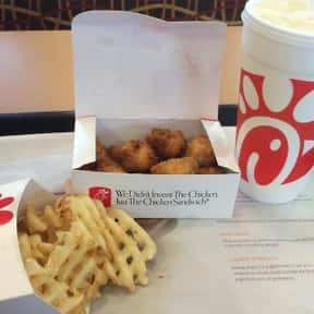 Chick-fil-A Nuggets is listed (or ranked) 1 on the list The Best Fast Food Chicken Nuggets