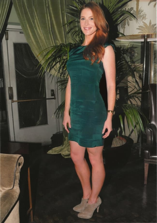 Bridget Regan In Green Dress Is Listed Or Ranked 4 On The List The