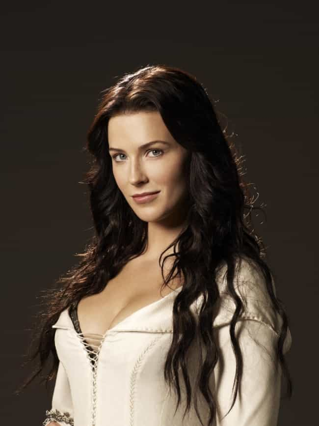 Bridget Regan in White Corsett... is listed (or ranked) 1 on the list The Most Stunning Bridget Regan Photos