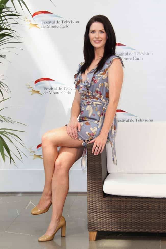 Bridget Regan in Slate Gray Dr... is listed (or ranked) 3 on the list The Most Stunning Bridget Regan Photos