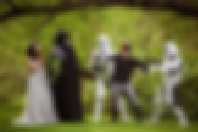 Forbidden Star Wars Love Weddi... is listed (or ranked) 2 on the list The 38 Most Obnoxious Wedding Themes of All Time