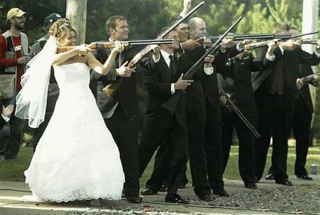 Worst wedding themes list of weird themed weddings the nra wedding junglespirit Images
