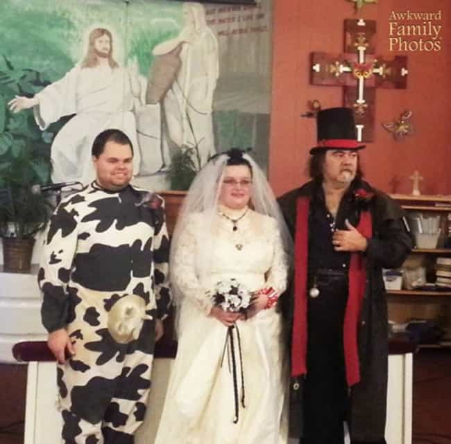 Holy Cow! Wedding is listed (or ranked) 4 on the list The 38 Most Obnoxious Wedding Themes of All Time
