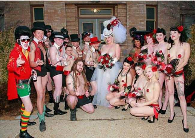 'You Thought Your Bridesma... is listed (or ranked) 2 on the list The 38 Most Obnoxious Wedding Themes of All Time
