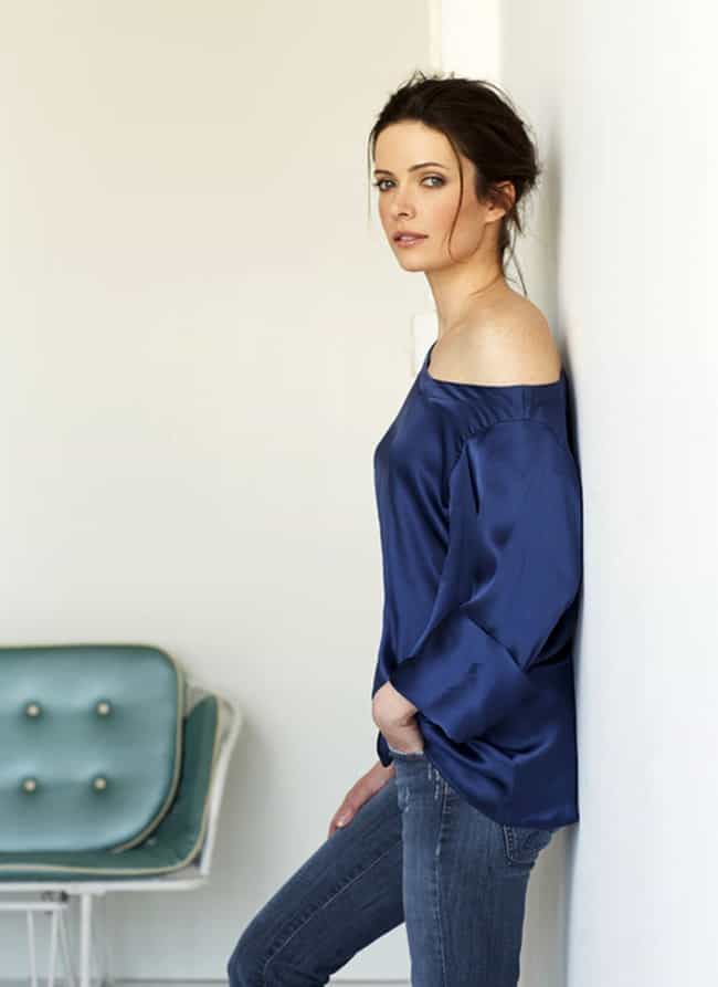 Bitsie Tulloch in Blue Off Sho... is listed (or ranked) 2 on the list The Most Stunning Bitsie Tulloch Photos
