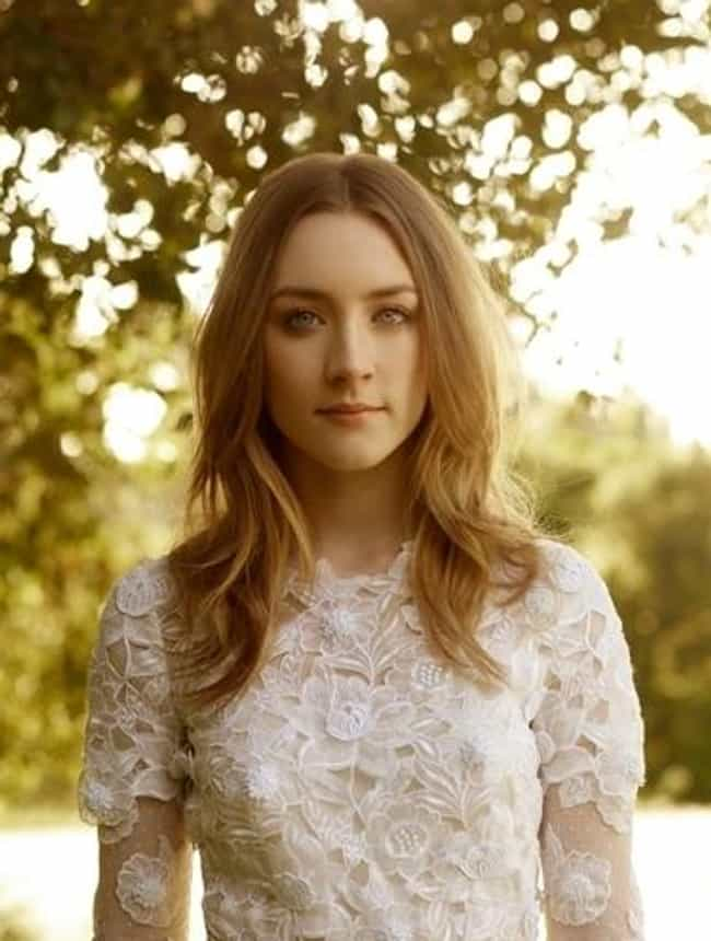 Saoirse Ronan in Floral White ... is listed (or ranked) 1 on the list The Most Stunning Saoirse Ronan Pics