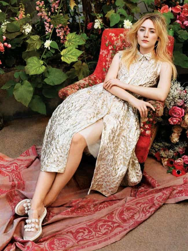 Saoirse Ronan in Gold Stylish ... is listed (or ranked) 2 on the list The Most Stunning Saoirse Ronan Pics