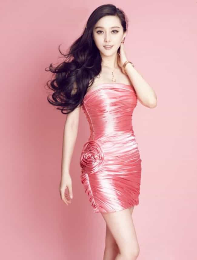 Bingbing Fan in Pink Shiny Dre... is listed (or ranked) 3 on the list The Most Stunning Photos of Bingbing Fan