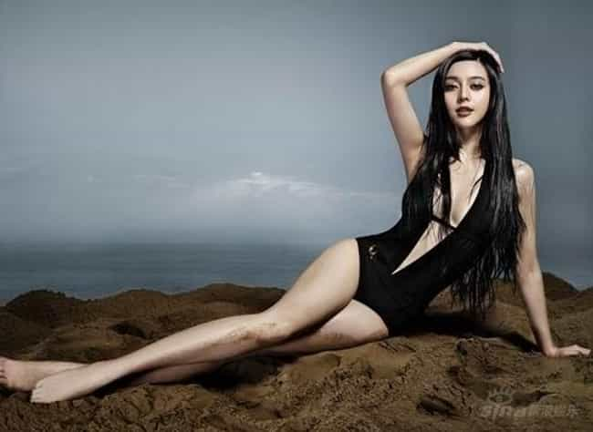 Bingbing Fan in Black Swimsuit is listed (or ranked) 1 on the list The Most Stunning Photos of Bingbing Fan