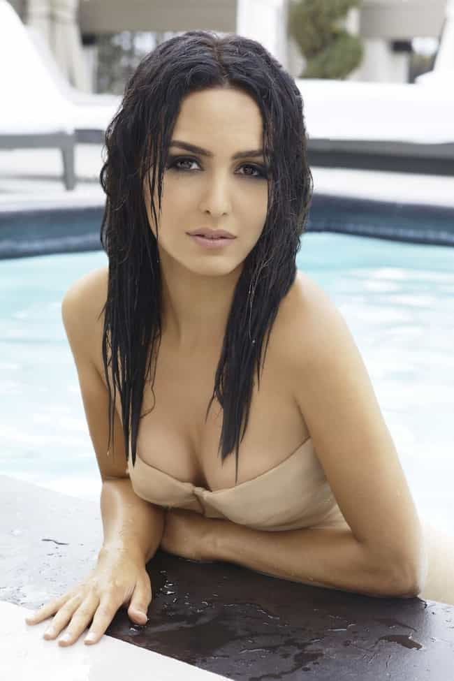 Nazanin Boniadi in Pool is listed (or ranked) 3 on the list The Hottest Nazanin Boniadi Pics