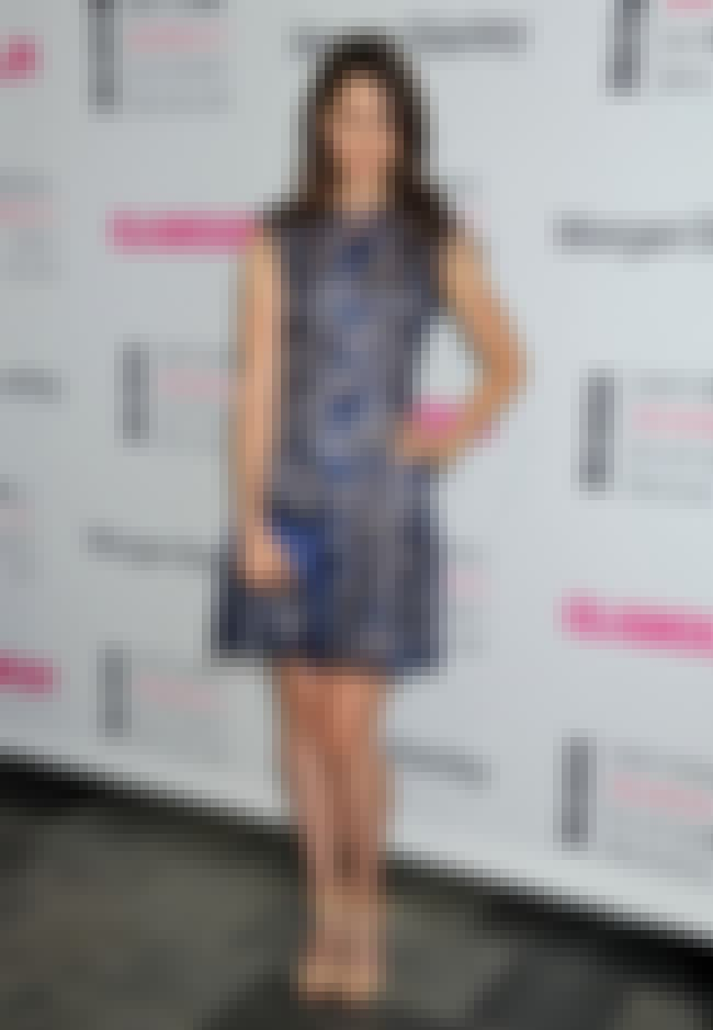 Amanda Crew in Stylish Blue Dr... is listed (or ranked) 4 on the list The Hottest Amanda Crew Photos