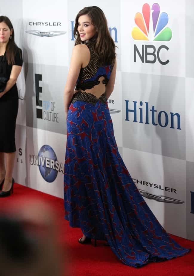 Hailee Steinfeld in Printed Fa... is listed (or ranked) 2 on the list The Most Stunning Hailee Steinfeld Photos