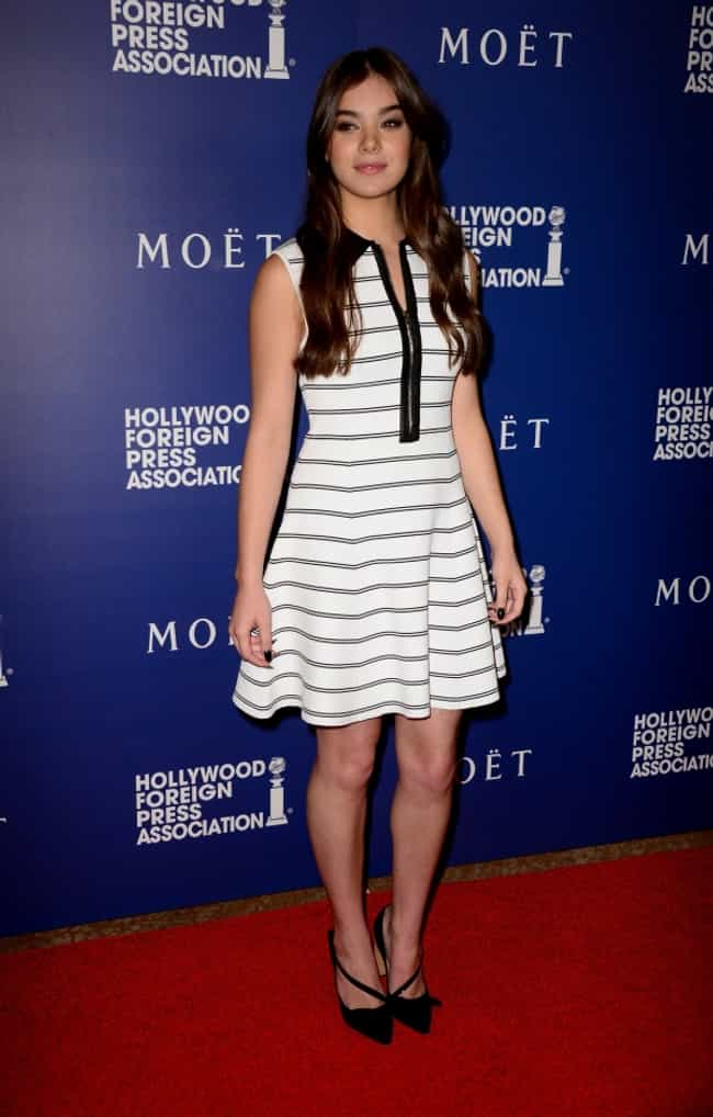Hailee Steinfeld in Stripes Fu... is listed (or ranked) 3 on the list The Most Stunning Hailee Steinfeld Photos