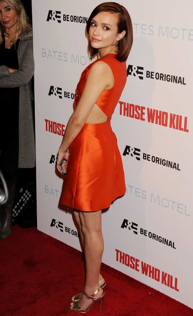 Olivia Cooke in Shiny Orange D... is listed (or ranked) 2 on the list The Most Stunning Olivia Cooke Photos