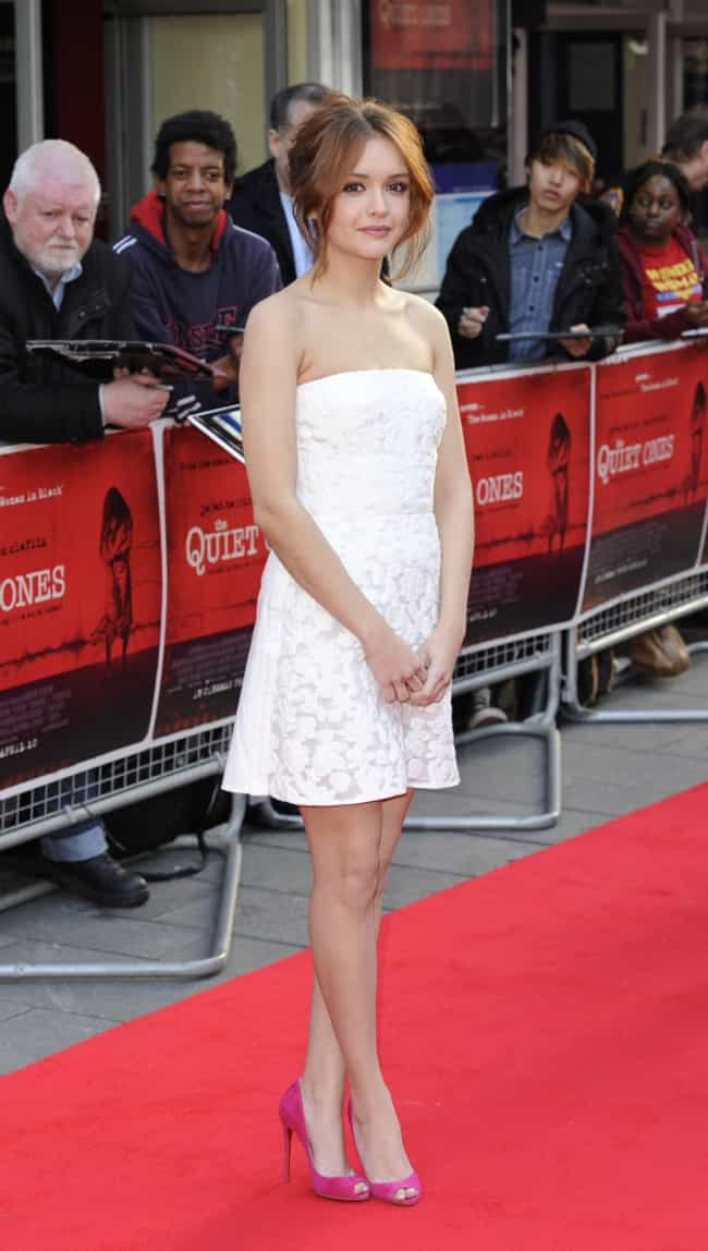 Olivia Cooke in White Dress is listed (or ranked) 1 on the list The Most Stunning Olivia Cooke Photos