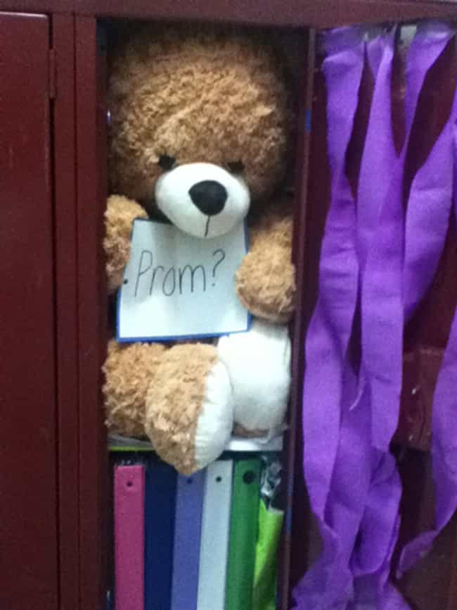 How to ask a girl to prom creative cute ways to invite someone stuff her locker is listed or ranked 1 on the list cute ways to ccuart Images