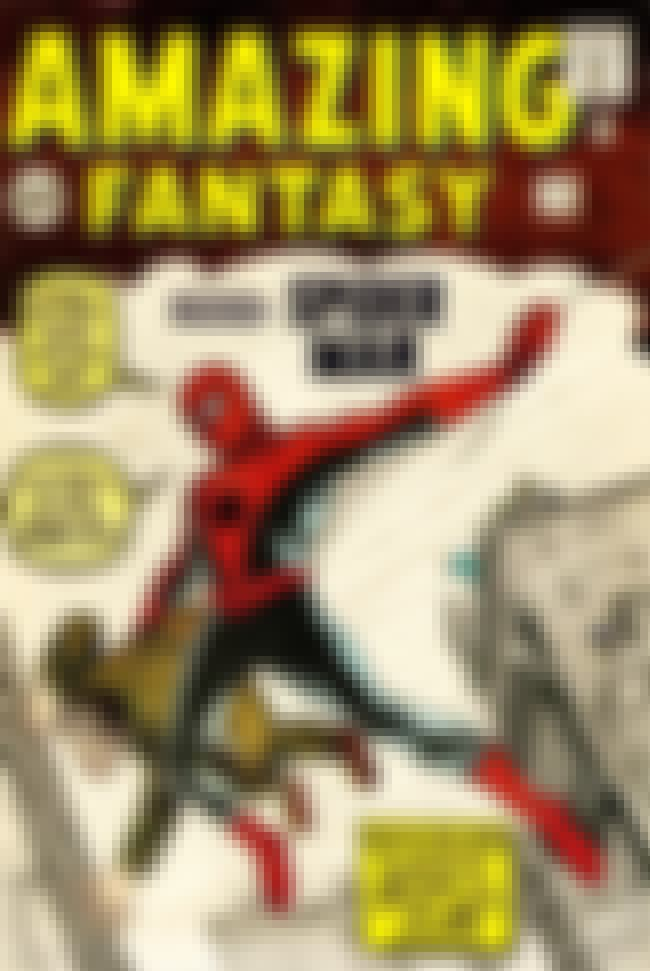 Amazing Fantasy #15 Featuring ... is listed (or ranked) 2 on the list The Most Expensive Comic Book Ever Sold