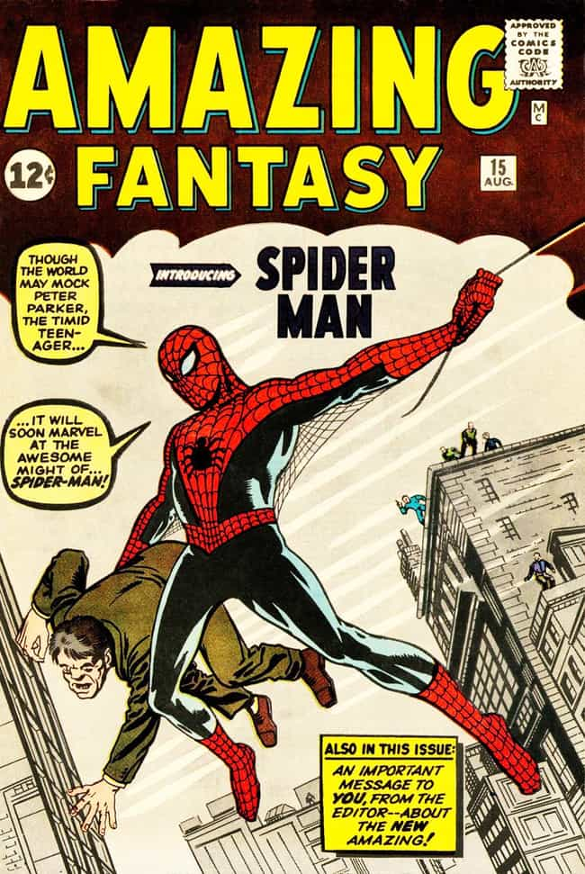 Amazing Fantasy #15 Feat... is listed (or ranked) 2 on the list The Most Expensive Comic Book Ever Sold