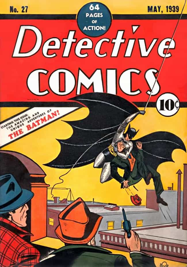 Batman's Debut in Detect... is listed (or ranked) 3 on the list The Most Expensive Comic Book Ever Sold