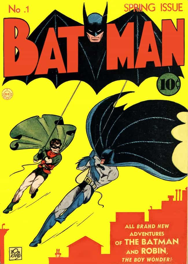 Batman #1 Goes for Over ... is listed (or ranked) 4 on the list The Most Expensive Comic Book Ever Sold