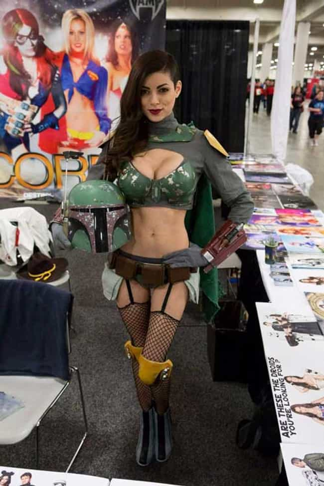 This Boba Fett Can Collect My ... is listed (or ranked) 2 on the list 20 Sexy Genderswap Cosplays