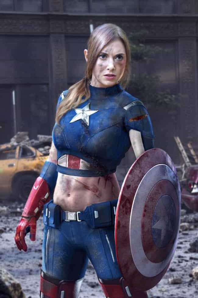 God Bless America! is listed (or ranked) 1 on the list 20 Sexy Genderswap Cosplays