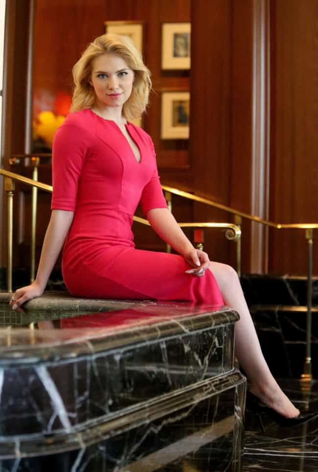 Claudia Lee in Red Dress is listed (or ranked) 1 on the list The Most Stunning Claudia Lee Pics