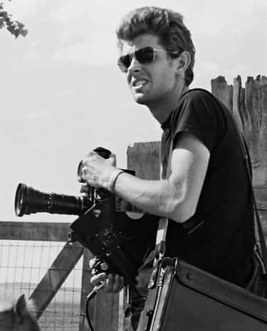 Young George Lucas in Black T-Shirt with Camera