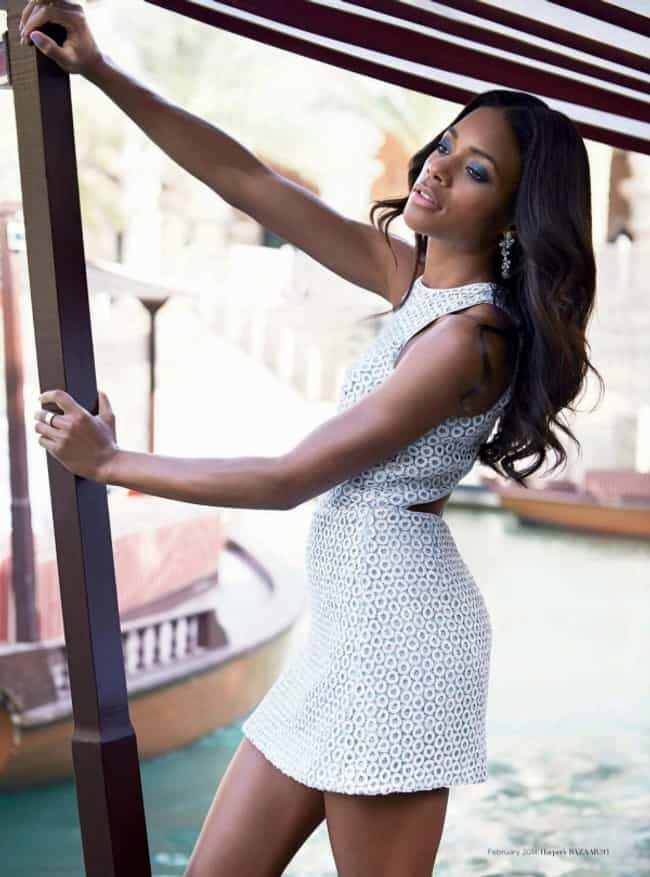 Naomie Harris in White Dress is listed (or ranked) 3 on the list The Hottest Naomie Harris Photos