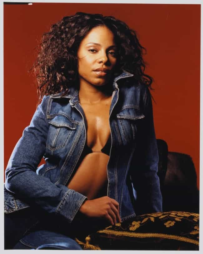 Sanaa Lathan in Denim Coat is listed (or ranked) 3 on the list The Hottest Sanaa Lathan Photos