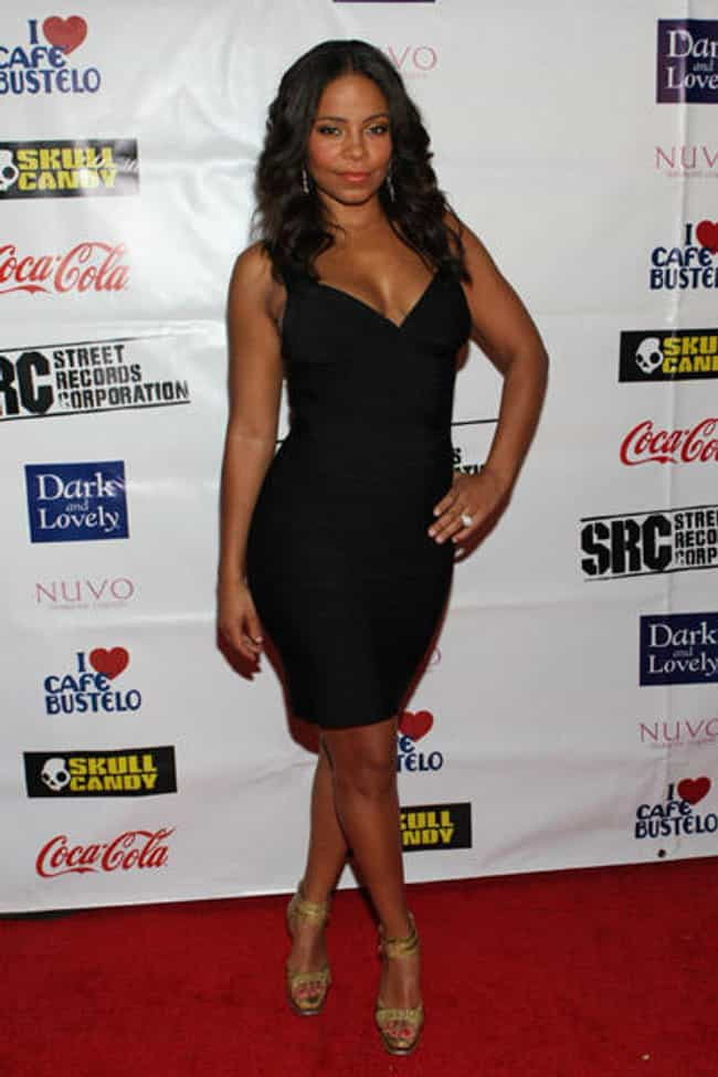 Sanaa Lathan in Black Deep V N... is listed (or ranked) 2 on the list The Hottest Sanaa Lathan Photos