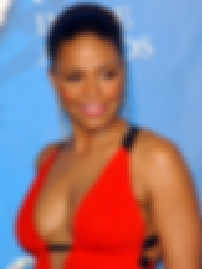 Sanaa Lathan in Red Open Chest... is listed (or ranked) 4 on the list The Hottest Sanaa Lathan Photos