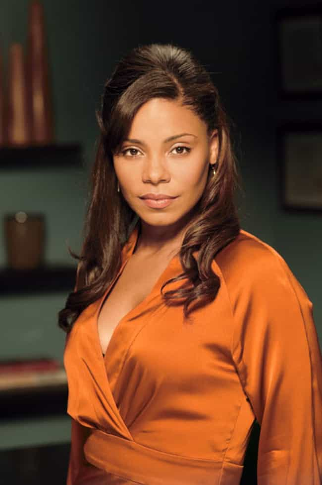 Sanaa Lathan in Orange Shiny D... is listed (or ranked) 1 on the list The Hottest Sanaa Lathan Photos