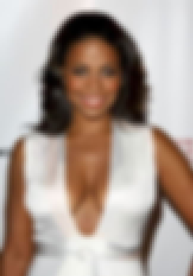 Sanaa Lathan in White Shiny Dr... is listed (or ranked) 3 on the list The Hottest Sanaa Lathan Photos