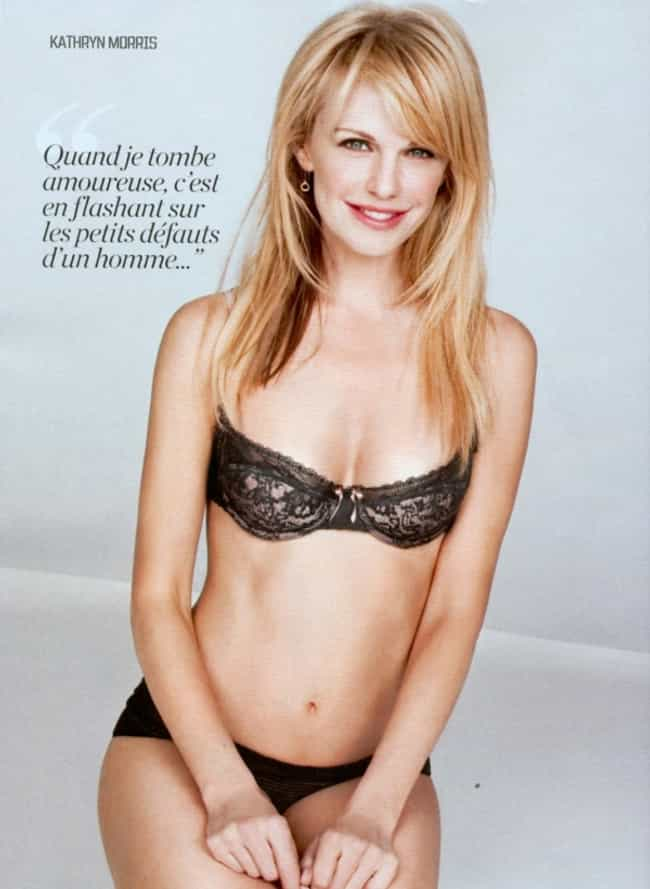 Kathryn Morris in Black Underw... is listed (or ranked) 1 on the list The Hottest Kathryn Morris Photos
