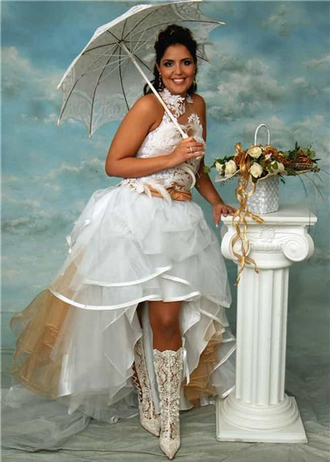 A Bo Peep Show is listed (or ranked) 3 on the list The Trashiest Formal Photos Ever Taken