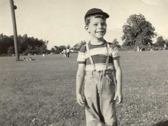 Young Stephen King in Striped ... is listed (or ranked) 1 on the list 18 Pictures of Young Stephen King