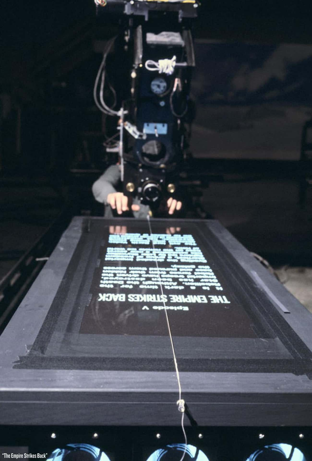 Filming The Title Sequence is listed (or ranked) 4 on the list Rare Star Wars Behind-The-Scenes Photos