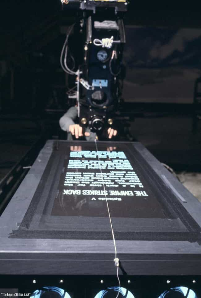 Filming The Title Sequen... is listed (or ranked) 1 on the list Rare Star Wars Behind-The-Scenes Photos