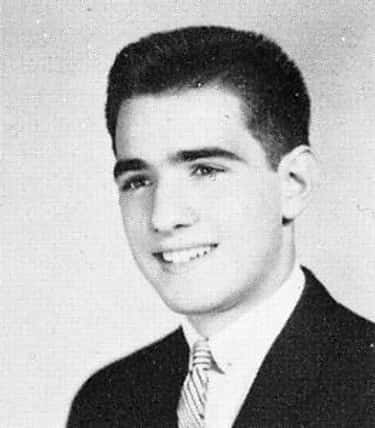 Young Martin Scorsese High School Yearbook Photo