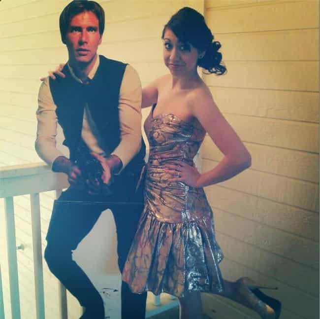 The Force Is Strong with this ... is listed (or ranked) 2 on the list People Who Brought Inanimate Objects as Their Prom Dates