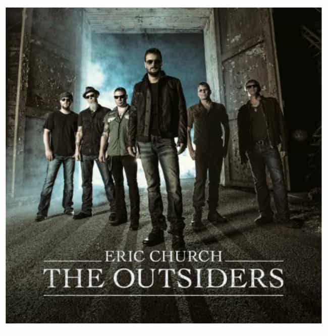 The Outsiders is listed (or ranked) 4 on the list List of The Best Eric Church Albums