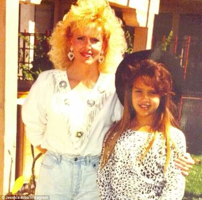 Young Jessica Alba with Mom is listed (or ranked) 2 on the list 18 Pictures of Young Jessica Alba