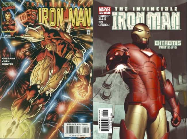 Before: Iron Man is listed (or ranked) 1 on the list 8 Superheroes That Were Better in Movies Than Comics