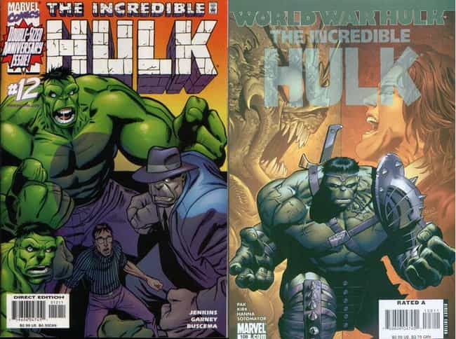 Before: Hulk is listed (or ranked) 3 on the list 8 Superheroes That Were Better in Movies Than Comics