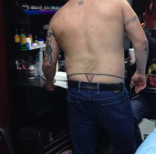 The Best of the Worst is listed (or ranked) 2 on the list Dudes Who Actually Got Tramp Stamp Tattoos