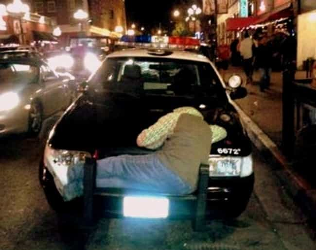 The World's Worst Place to... is listed (or ranked) 1 on the list Really Tired People Caught Sleeping in Public