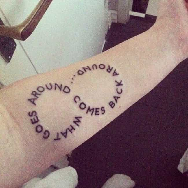 This Top Notch Demonstration o... is listed (or ranked) 5 on the list Incredibly Clever Pun Tattoos